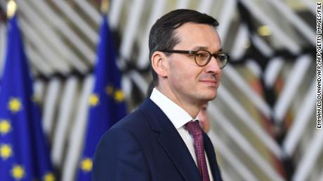 Polish Prime Minister Mateusz Morawiecki has been fiercely criticized for his comments.