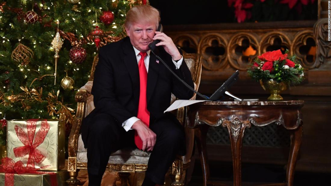 Trump Celebrates Christmas Surrounded By Family Friends