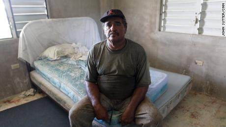 José Ángel Gómez Ortiz's family moved to the mainland United States because of the condition of his home.