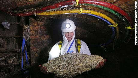 Massive London 'fatberg' to be turned into museum exhibit