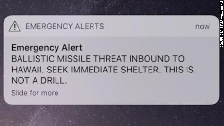 Timeline of the Hawaii false missile alert shows how drill went wrong