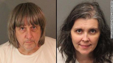 David Allen Turpin, 56, and Louise Anna Turpin, 49.