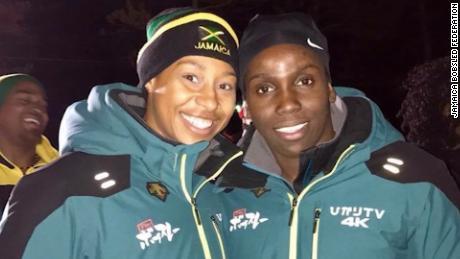 The Jamaican women evoking 'Cool Runnings'