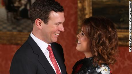 Opera, trumpets and red velvet cake for royal wedding of Britain's Princess Eugenie