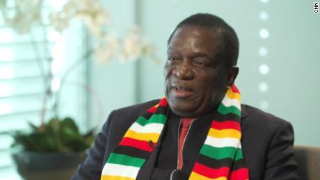 President Emmerson Mnangagwa worked alongside Mugabe for 40 years.