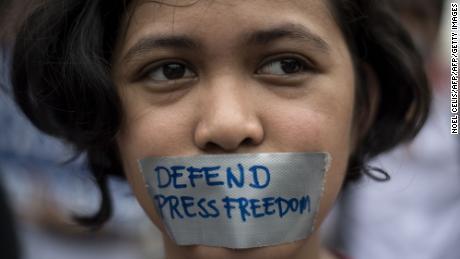 Asia's strongmen follow Trump's lead on fake news