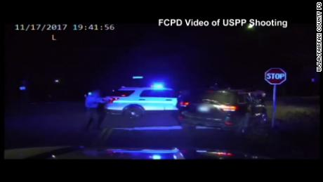 US Park Police fired 9 times, killing motorist, video shows