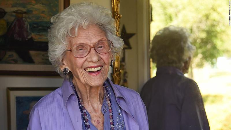 """<a href=""""http://www.cnn.com/2018/02/01/entertainment/connie-sawyer-dead/index.html"""" target=""""_blank"""">Connie Sawyer</a>, who was the oldest working actress in Hollywood, died on January 21 at the age of 105, her daughter, Lisa Dudley, told CNN. The character actress appeared in multiple film and television projects over the years, including roles in """"Archie Bunker's Place,"""" """"Will & Grace"""" and """"When Harry Met Sally."""" More recently, she appeared as the mother of James Woods' character in the Showtime series """"Ray Donovan."""""""