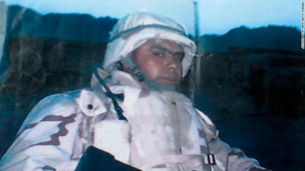 Miguel Perez Jr. served in the US Army but did not become a US citizen.