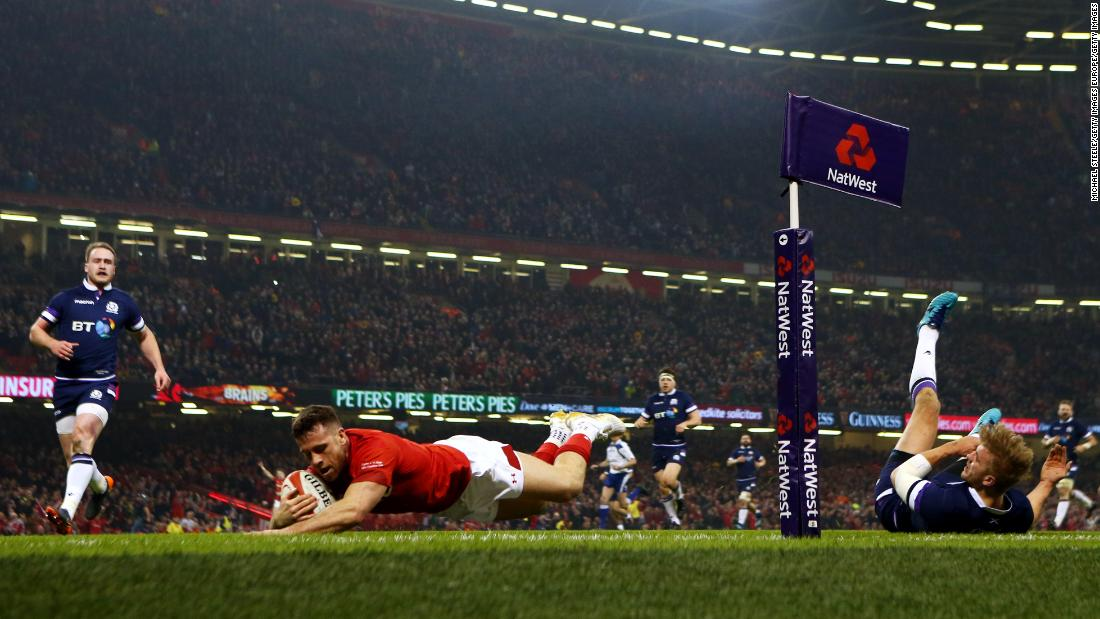 Scotland were another side to feel the blues on opening weekend as they succumbed 34-7 to Wales in Cardiff.