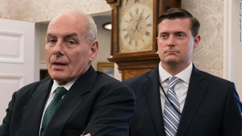 Defiant John Kelly continues to misrepresent his handling of Rob Porter scandal