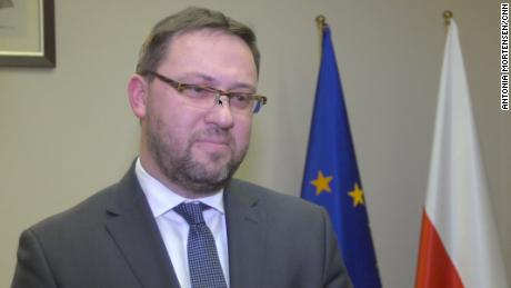 Poland's Deputy Foreign Minister Bartosz Cichocki defended the new law.