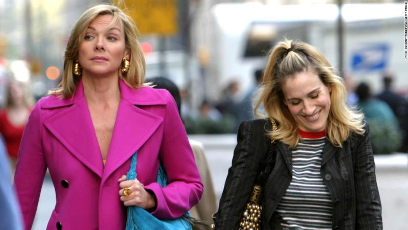 """Kim Cattrall and Sarah Jessica Parker were apparently better friends on """"Sex and the City"""" than in real life. There had long been speculation that the pair were on bad terms and in February <a href=""""https://www.instagram.com/p/BfBIPebAmFX/?taken-by=kimcattrall"""" target=""""_blank"""">Cattrall slammed Parker on social media</a> for reaching out after the death of Cattrall's brother."""