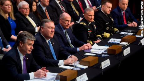 US intel chiefs unanimous that Russia is targeting 2018 elections