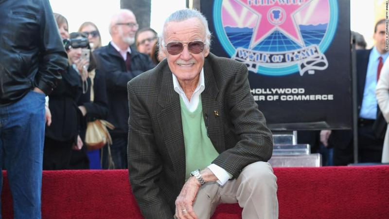 Lee receives a star on the Hollywood Walk of Fame in 2011.