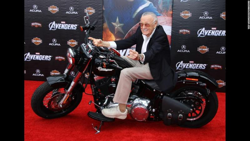 """Lee attends the Los Angeles premiere of """"The Avengers"""" in 2012."""