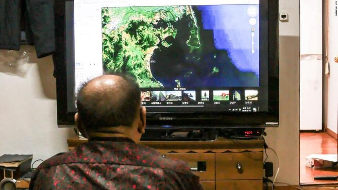 Kwon Moon-kook likes to use Google Earth to look at his birthplace north of the border.