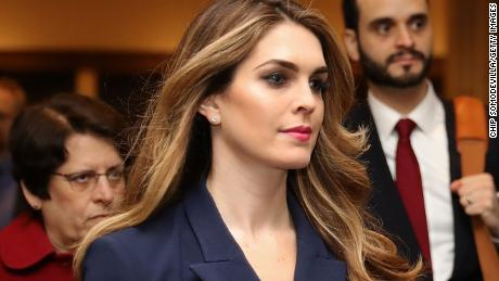 Hope Hicks to testify behind closed doors before House Judiciary next Wednesday