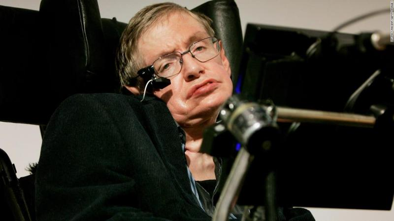 """<a href=""""https://www.cnn.com/2018/03/14/health/stephen-hawking-dead/index.html"""" target=""""_blank"""">Stephen Hawking</a>, the brilliant British theoretical physicist who overcame a debilitating disease to publish wildly popular books probing the mysteries of the universe, died Wednesday, March 14. He was 76."""