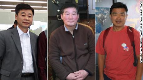 Kim Hak-song, Kim Dong Chul, Kim Sang-duk