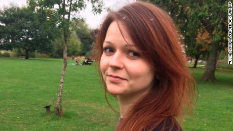 Yulia Skripal's health 'improving rapidly' after nerve agent attack