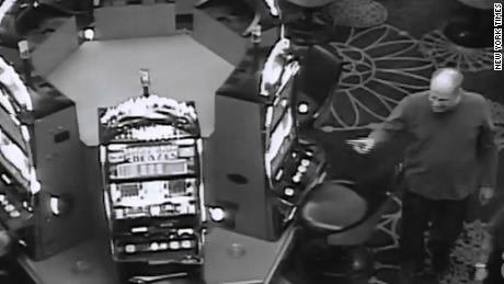 Surveillance video showed an ordinary gambler. He turned out to be the Las Vegas gunman
