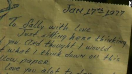 Man finds and returns 41 year old love letter   CNN Video lost love letter
