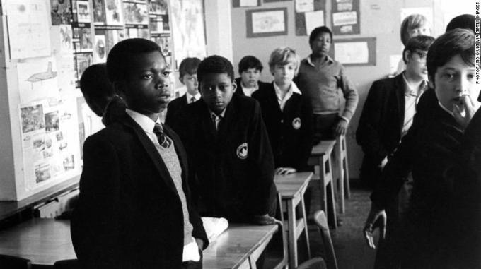 London state school in the early 1980s.