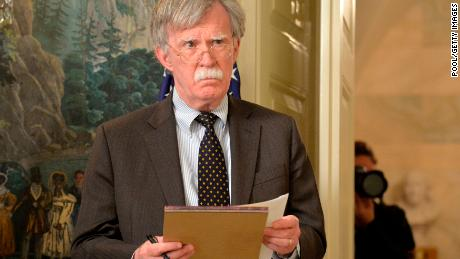 White House downplays Bolton comments after North Korea outcry