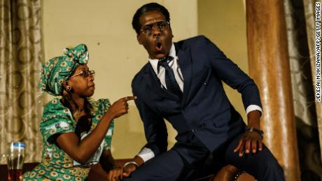 Zimbabweans finally laugh at ex-leader Mugabe in new comedy