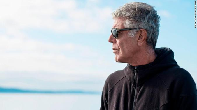 Anthony Bourdain was found unresponsive in his hotel room in France early Friday.