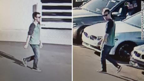 Brentwood, Tennessee police released video from an investigation of a car stolen in Nashville.