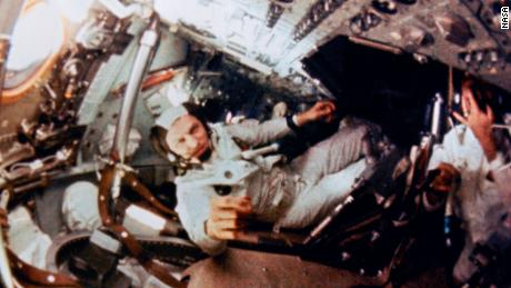 Frank Borman, commander of Apollo 8.