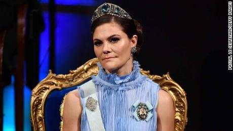 One of the allegations against Arnault relates to Crown Princess Victoria of Sweden.