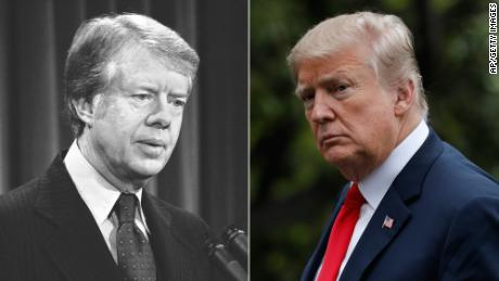 Jimmy Carter, Trump discuss administration's China trade talks