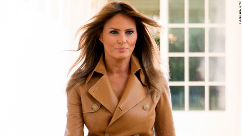 Melania Trump tweets praise for Medal of Honor recipient