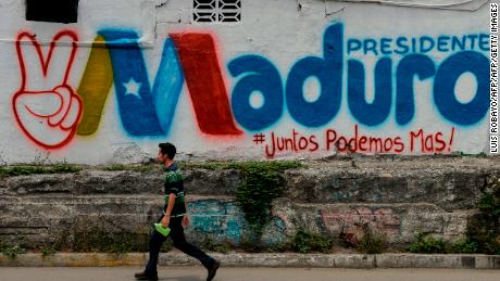 Opponents slam Venezuelan President Nicolas Maduro's election victory as a sham