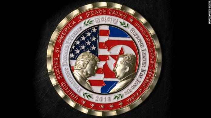 Fate of Trump-Kim meeting uncertain, but there will always be a coin