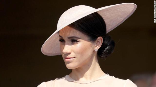 Meghan, Duchess of Sussex attends The Prince of Wales' 70th Birthday Patronage Celebration on Tuesday.