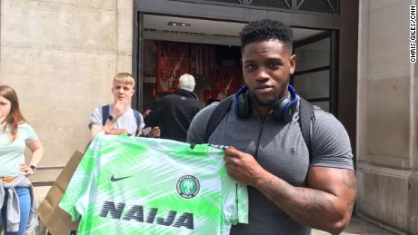 Nigeria World Cup kit sells out in minutes as fakes flood Lagos markets
