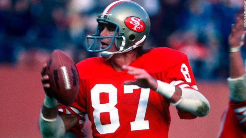 "Former San Francisco 49er <a href=""https://www.cnn.com/2018/06/04/sport/dwight-clark-dies-als/index.html"" target=""_blank"">Dwight Clark</a> died June 4 after a battle with amyotrophic lateral sclerosis, or ALS. He was 61. Clark was on the receiving end of one of the greatest plays in NFL history, forever known as ""The Catch."""