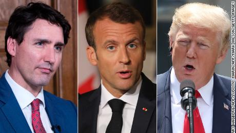 Trump plans to depart G7 summit early
