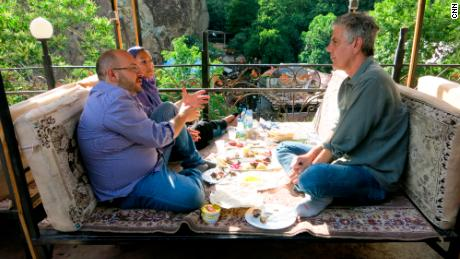 Anthony Bourdain said Iran was the most pro-American place he had ever filmed in.