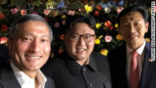 Kim Jong Un tours Singapore ahead of summit