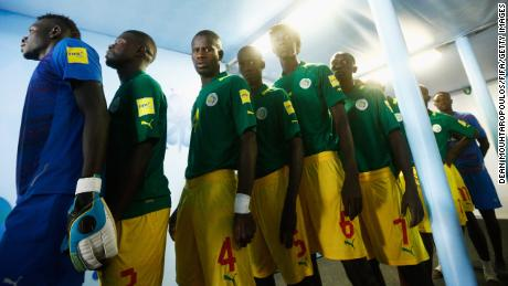 The Senegal team circa 2015