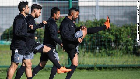 The Iran national team