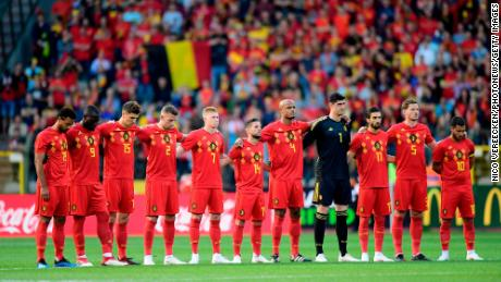 The Belgians, ranked third in the world, have some sweet threads.