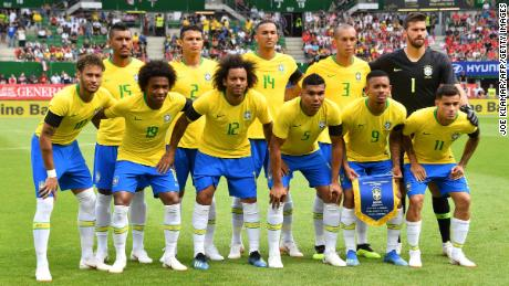 Brazil wore this color yellow in 1970 when Pele was king of the World Cup.