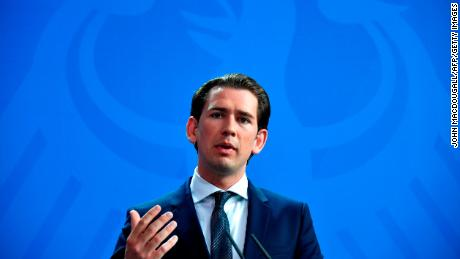 Austria's Sebastian Kurz, a rock star to conservatives, walks a 'thin red line' in Europe