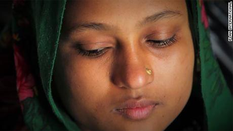 Jahida, 17, experiences severe period pain. She wishes she had medication to help her cope.